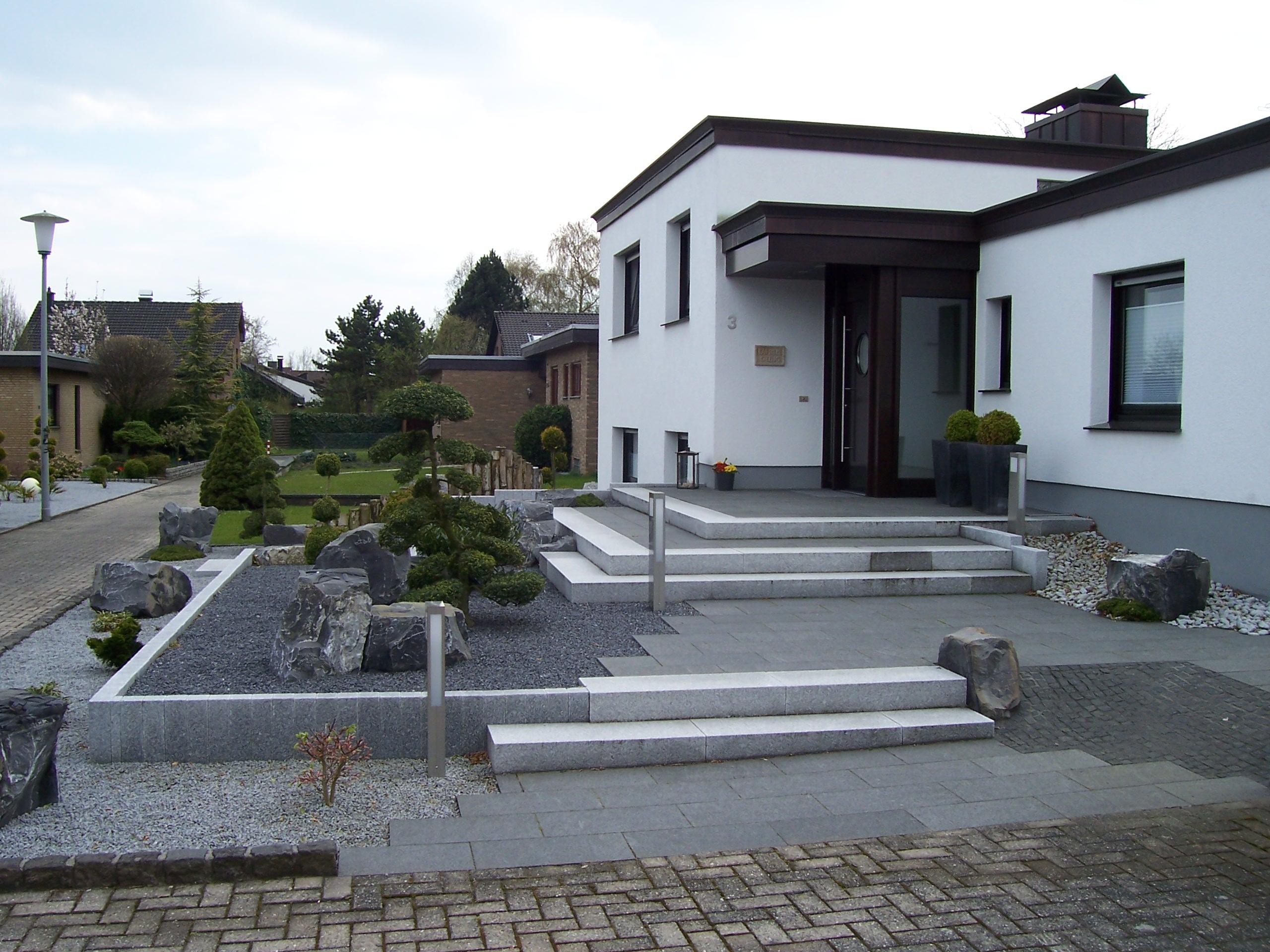 Bildergalerie handwerkerkreis steinfurt for Modernes haus vorgarten